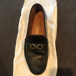 SALVATORE FERRAGAMO Sport Black Loafers 9.5